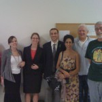 Gasper's supporters in court. Picture courtesy of Adela Falk