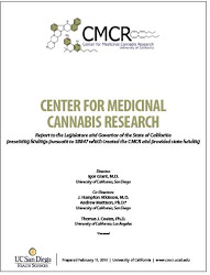 CMCR Report Front