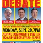 US CONGRESSIONAL 52ND DISTRICT DEBATE!