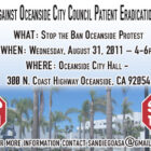 Safe Access in Oceanside is facing an Imminent Threat of eradication! Oceanside patients need your help!
