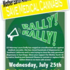 Rally Against Federal Attacks on Safe Access to Medical Marijuana