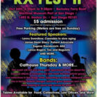 RX FEST II – Sunday 4:20pm – Berkeley Ferry Boat – San Diego Maritime Museum