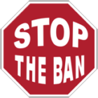 OB Rag Covers Stop the Ban Campaign