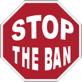 Stop Sign - Stop The Ban