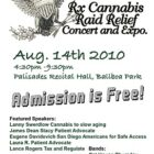 Rx Cannabis Raid Relief Concert and Expo