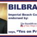 Bilbray Endorses Medical Marijuana Initiative in Imperial Beach