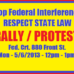 San Diego Rally Against Federal Interference