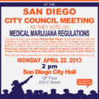 San Diego City Council Vote on Medical Marijuana Regulations