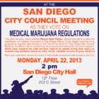 San Diego City Council Vote on Medical Marijuana Regulations