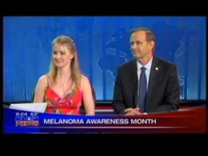 Melanoma Awareness Month with Briana Bilbray and Father