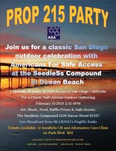 ASA's 215 Party Flyer